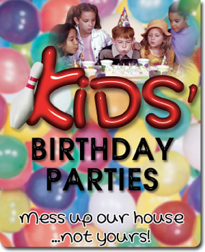 Kids' birthday parties